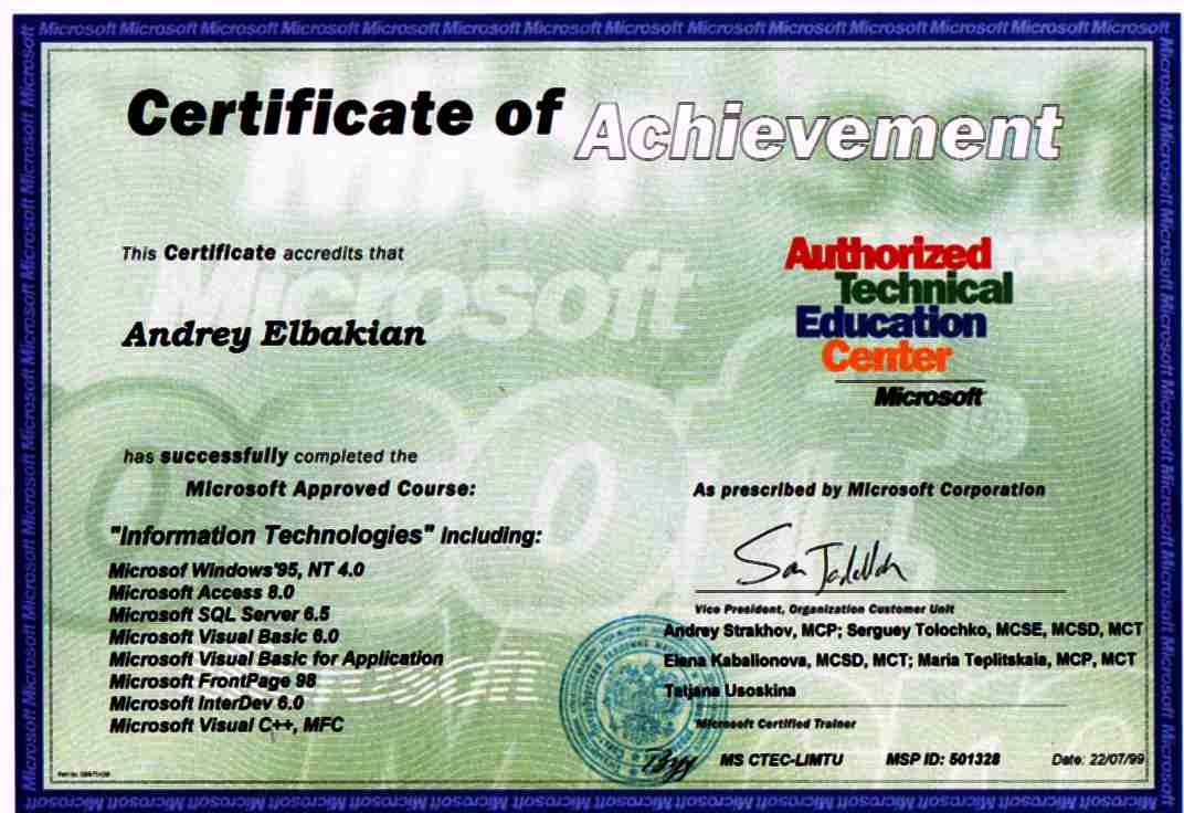 Certificates atec certificate 1betcityfo Image collections